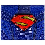 Cartera de DC Comics Superman Emblema Azul
