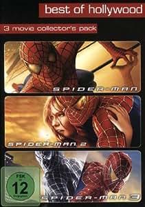 Spider-Man 1-3 - Best of Hollywood [3 DVDs]