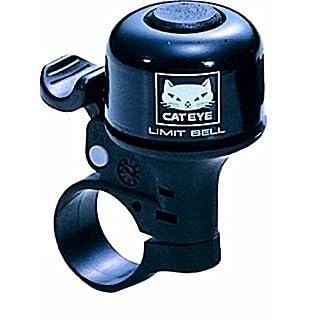 Cateye PB-800 Fahrradklingel, schwarz, one Size