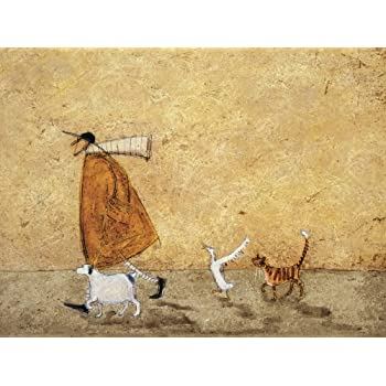 Sam Toft A Day in Lavender Canvas Print  WDC100346   60 X 80cm