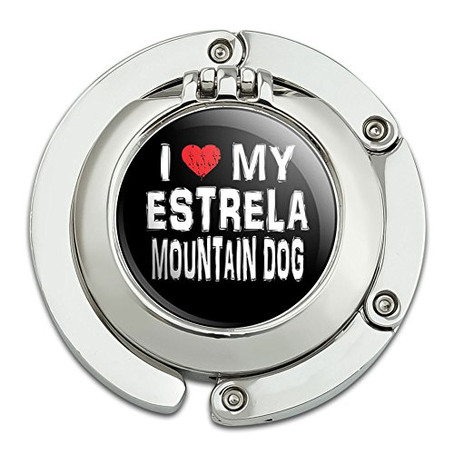 i-love-my-estrela-mountain-dog-stylish-foldable-table-bag-purse-caddy-handbag-hanger-holder-hook-wit