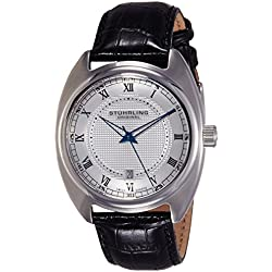 Stuhrling Original Herren-Armbanduhr Aristocrat Twenty Analog Quarz 728.01