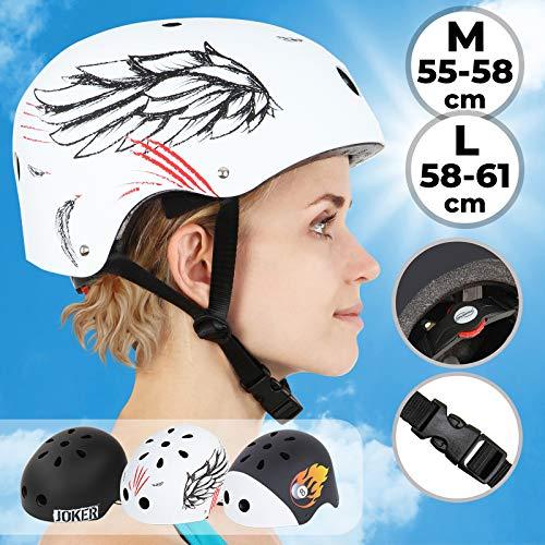Infantastic Kinderhelm | Kopfumfang: ca. 58 bis 61 cm, inkl. Einstellrad, schlagfest, für Kinder und Jugendliche | Fahrradhelm, Kinderfahrradhelm, Fahrrad Radhelm, Helm Bike