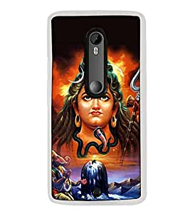 Fuson Designer Back Case Cover for Motorola Moto X Style :: Moto X Pure Edition (Ganesha Ganeshaji Vandan Namskar Aaradhana )