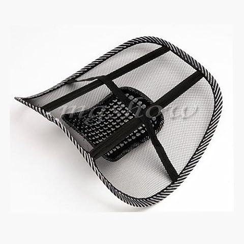 Auto Büro Sitz Stuhl Massage Rücken Lendenwirbelstütze Netz Belüften Polster Pad