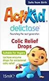 ActiKid Delictase Colic Relief Drops 15ml for infants and babies, helping digestion of lactose