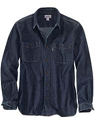 Carhartt Mens Rugged Flex Patten Long Sleeve Cotton Spandex Shirt