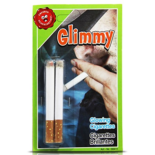 Zigarette- Jux-Zigarette 2 Stück auf Karte