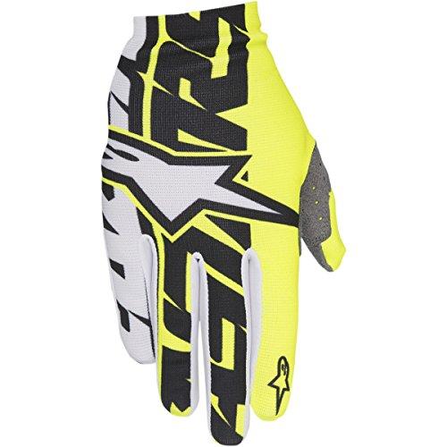 guanti alpinestar mtb Alpinestars 2017 Motocross / MTB guanti - Duna - bianco e nero giallo neon - S / 8