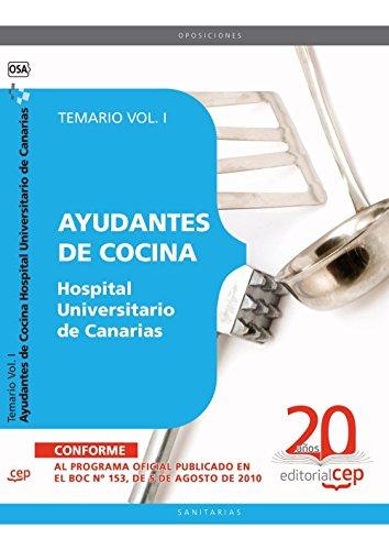 Descargar Libro Ayudantes de Cocina Hospital Universitario de Canarias. Temario Vol. I. (Colección 1559) de Ignacio Rodríguez Corrales