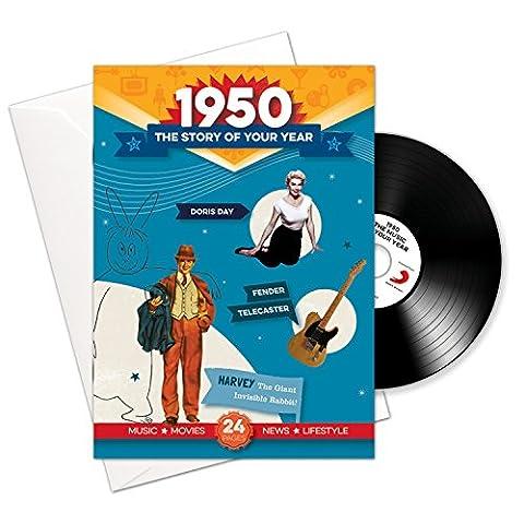 1950 anniversaire ou cadeaux - 1950 4-en-1 et cadeaux - Histoire de l'Année, CD, Musique Télécharger