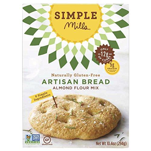 Simple Mills - Pane naturalmente Glutine-Libero dell'artigianale del preparato della farina della mandorla - 9,5 oncia. - Glutine Mandorle Pane