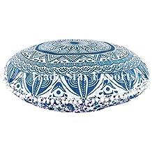 Ombre Mandala de cojines de suelo tamaño