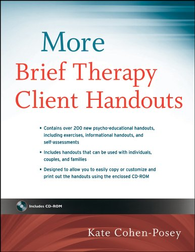 More Brief Therapy Client Handouts (English Edition)