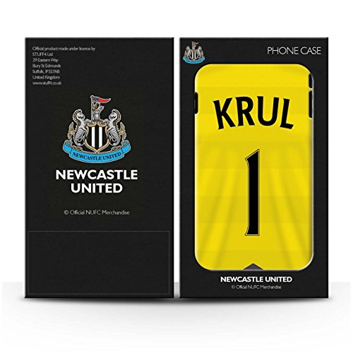 Offiziell Newcastle United FC Hülle / Glanz Snap-On Case für Apple iPhone 6S+/Plus / Pack 29pcs Muster / NUFC Trikot Home 15/16 Kollektion Krul