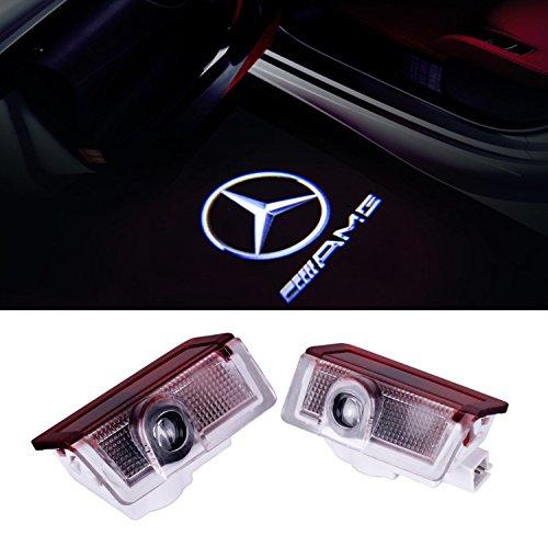 EOVVIO 2 Stück Autotür LED Logo Türbeleuchtung Einstiegsleuchte Projektion Projektor Licht
