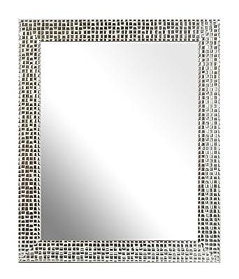 Inov8 10 x 8-Inch British Made Traditional Mirror Frame, Austen Blue Wash_Parent