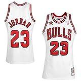 Mitchell & Ness Maillot en jersey NBA Chicago Bulls 1998 Michael Jordan n°23 L Weiß
