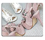 liili Mouse Pad Mousepad de goma natural la novia y su novia zapatos de s que se está fotografiando imagen ID 16018181
