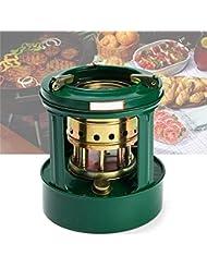 WOVELOT Universal Mini Estufa de Queroseno 8 mechasp de ractico al Aire Libre Quemador Calentadores de