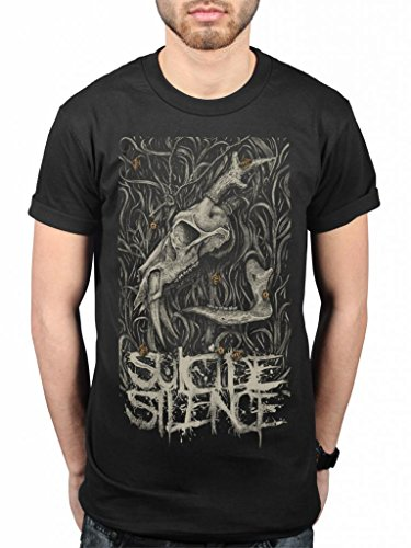 Official Suicide Silence Death Tales T-Shirt Deathcore Music Album Chris Garza