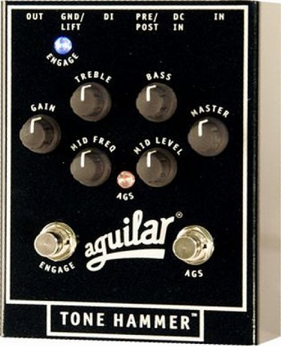 Aguilar Tone Hammer Bass preamplificador Direct Box