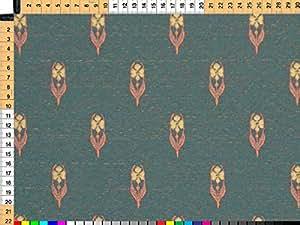Tessuto da tappezzeria, rivestimento in tessuto, tessuto da tappezzeria, tessuto, tessuto della tenda, tessuto - accenti, Patricia, - rustici fiori Web su alta qualità Jacquard