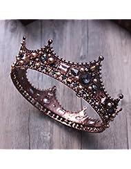 &zhou Tocado nupcial de la joyería del pelo por los accesorios 16 * 6cm del vestido de boda de la mano