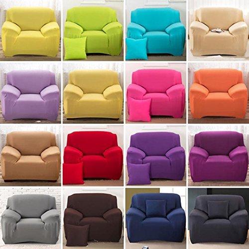 Demeuble@Housse Protecteur Revêtement Couverture Pour Coussin/Fauteuil/Canapé de 2 Sièges/Canapé de 3 Sièges-Pillow Case/ Sofa Cover 1 Seater/ 2 Seater/ 3 Seater