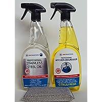 Dirtbusters kit di pulizia in acciaio INOX Il modo professionale in acciaio INOX per lucidare (Stainless Steel Bar Sink)