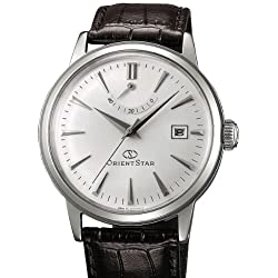 Orient Star Classic Automatic Dress Watch with Power Reserve, Domed Crystal EL05004W