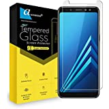 For Samsung Galaxy A8 Plus (2018) Tempered Glass Gorilla Screen Protector Screen Guard High Premium Quality 9H Hard 2.5D Ultra Clear (Transparent)