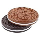 Akooya Miroir de Poche En Forme De Biscuits Chocolat