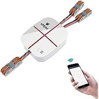 eMylo Smart WiFi 2 canali Telecomando Wireless Interruttore Luce Modulo 5-24V Elettrodomestico Timer Wireless…