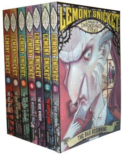 A Series of Unfortunate Events Collection 1 to 7 Books for sale  Delivered anywhere in UK