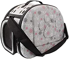 Pet carrier Travel Bag for Small Dogs and Cats Hard Cover Collapsable Portable Foldable Airline Approved Partable pet bag