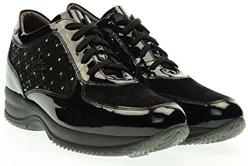 NERO GIARDINI donna sneakers basse A616061D/100 37 Nero