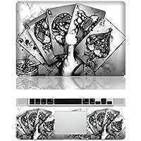 Vati fogli smontabili non fumatori protettiva copertura completa di arte del vinile Decal Sticker Cover per Apple MacBook Pro Retina da 13,3