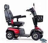 Invacare Orion PRO, 4-Rad-E-Mobil, Elekromobil 10 km/h, Rot, das schöne Seniorenmobil inkl. Anlieferung/Einweisung/Aufbau vor Ort