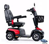 Elektromobil Invacare Orion PRO-6, 4-Rad-E-Mobil, 6 km/h, Rot, das komfortable Seniorenmobil inkl. Anlieferung/Einweisung/Aufbau vor Ort