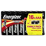 Energizer Alkaline Power AAA Batteries, 16 Pack