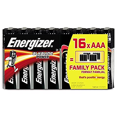 Energizer Piles AAA 628123classique (16pièces)