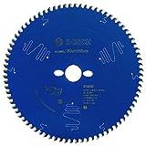 Bosch Kreissägeblatt Expert für Aluminium, 254 x 30 x 2,8 mm, Zähnezahl 80, 1 Stück, 2608644112