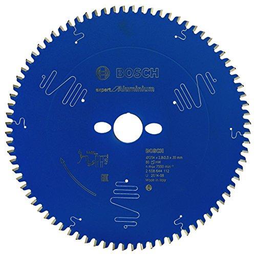 Bosch Professional Kreissägeblatt (für Aluminium, AußenØ: 254 mm, Bohrung: 30 mm, Zubehör für Kapp-, Gehrungssäge)