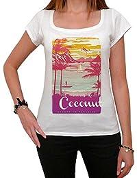 Coconut, Escape to paradise, tshirt femme, t shirt été femme, plage tshirt