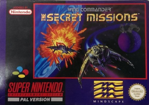 Wing Commander - The Secret Missions SNES