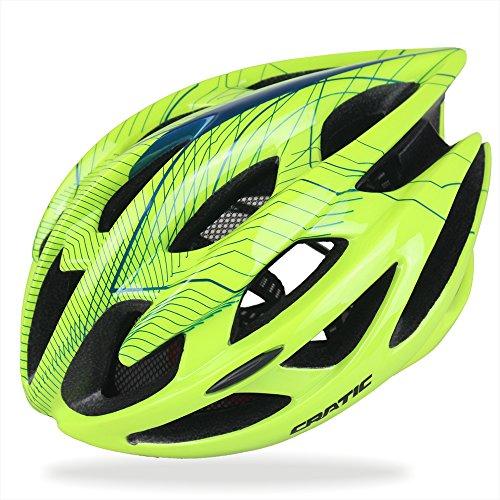 codomoxo® Erwachsene Radsport Helm Specialized für Herren Damen Safty Schutz mit umweltfreundlichen verstellbar Trinity Mountain Fahrrad Road Bike Helm, grün (Fahrrad Specialized Mountain Bike)