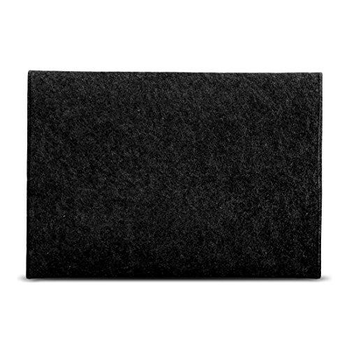 Notebook Sleeve Hlle TrekStor SurfTab twin 116 circumstance Ultrabook Cover Tasche Filz FarbenDunkel Grau Taschen Hllen Skins