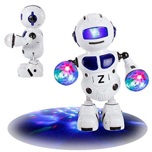 Musikroboter, Sansee Electronic Walking Tanzen Smart Bot Roboter Astronaut Kinder Musik Licht Spielzeug Die beliebtesten Weihnachtsgeschenk Für Kinder (Roboter - Walking-spielzeug-roboter