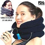 Coussin gonflable de massage pour le cou
